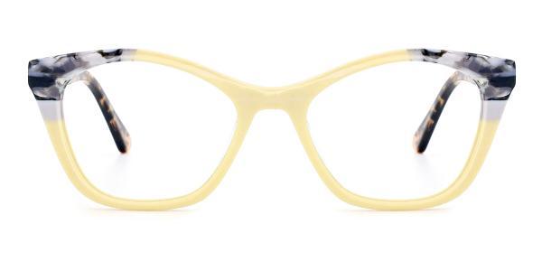 RD359 Onya Cateye yellow glasses