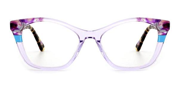 RD359 Onya Cateye purple glasses
