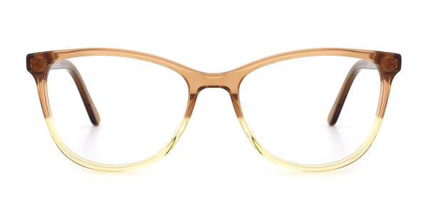RD658 Mel Cateye brown glasses