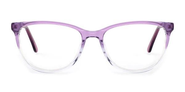 RD658 Mel Cateye purple glasses