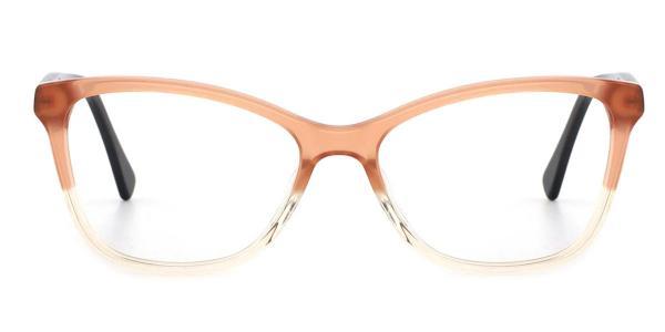 RD659 Erin Cateye brown glasses
