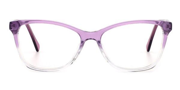 RD659 Erin Cateye purple glasses