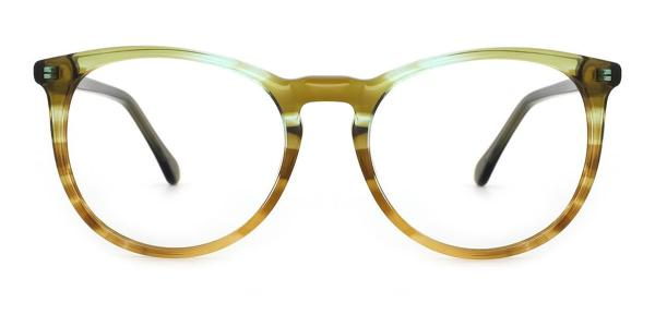 RD688 Jodie Oval green glasses