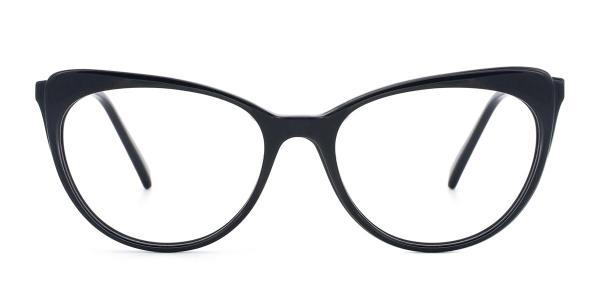 RT-3011 Doris Cateye purple glasses