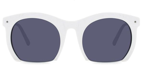 S6204 Fisher Oval white glasses