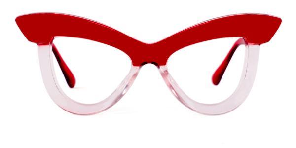 S8053 Kerrin Cateye blue glasses