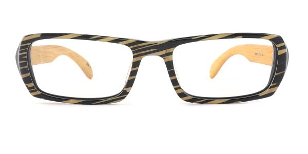 SD3126 Effie Rectangle yellow glasses