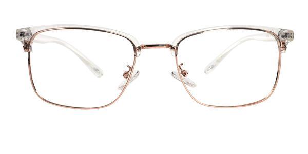 TR9126 Katz Rectangle gold glasses