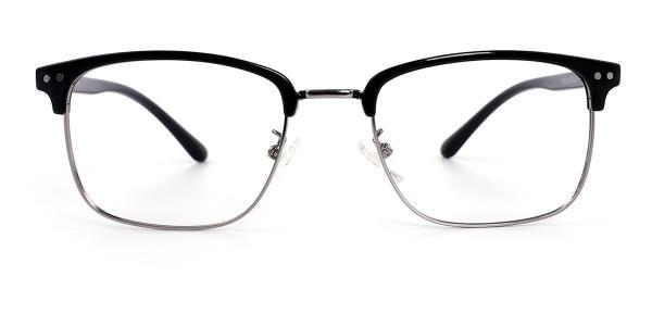 TR9126 Katz Rectangle silver glasses