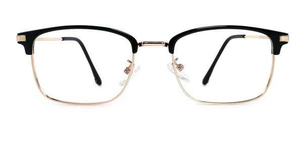TR9134 Manuel Rectangle gold glasses