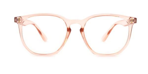 WK0566 Pam Rectangle orange glasses