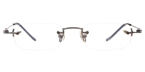 X7015 Eda Rectangle,Oval black glasses