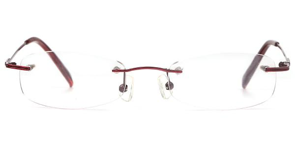 X7101 Daisy Rectangle,Oval red glasses