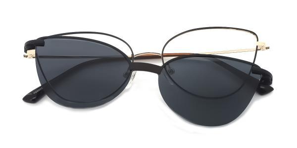 YC33052 rabia Cateye purple glasses