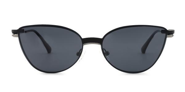 YC33052 rabia Cateye silver glasses