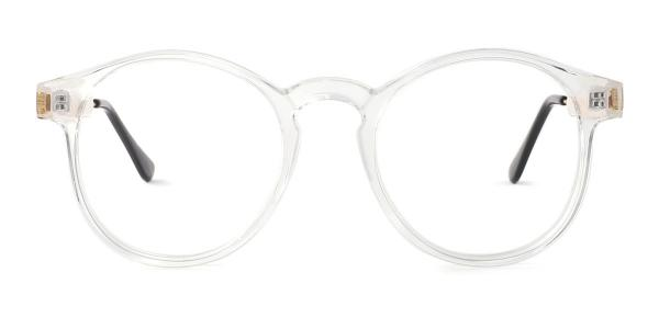 Z3185 Yadyra Round clear glasses