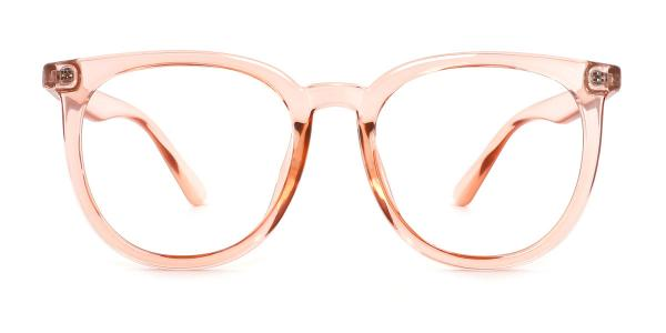 0567 Una Oval grey glasses