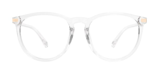 0572 Vann Oval clear glasses