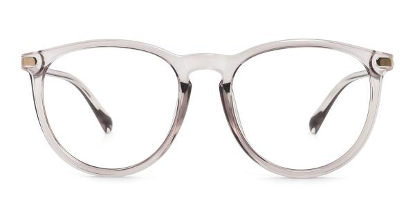 0572 Vann Oval grey glasses