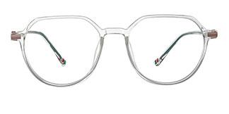 0871 Liana Geometric clear glasses