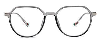 0871 Liana Geometric grey glasses