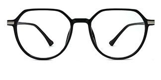 0871 Liana Geometric silver glasses