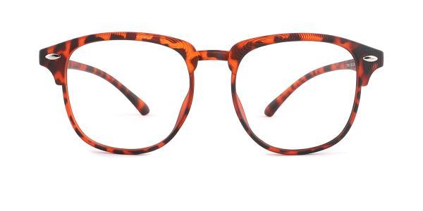 1003-1 Felicitie Rectangle tortoiseshell glasses