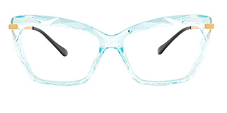 10102 Tina Cateye blue glasses