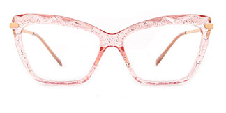 10102 Tina Cateye pink glasses