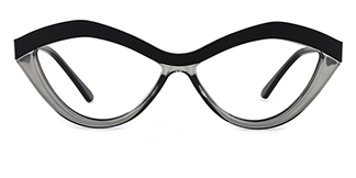 1055S Anliese Cateye black glasses