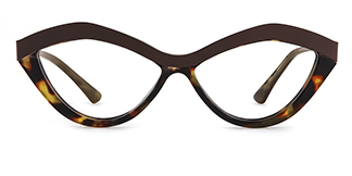1055S Anliese Cateye gold glasses