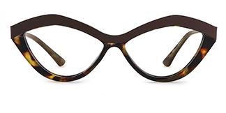 1055S Anliese Cateye tortoiseshell glasses