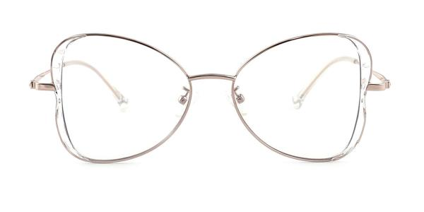11133 Alvera Butterfly clear glasses