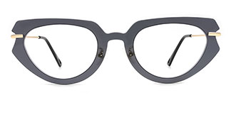 1126 Giovvana Cateye grey glasses