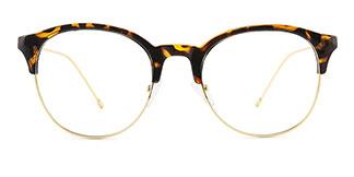 12354 Ibernia Oval tortoiseshell glasses