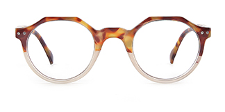 12471 Holly Geometric tortoiseshell glasses