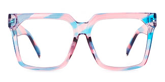 1254 Reagan Rectangle multicolor glasses