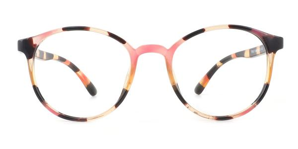 12661 Snowy Oval multicolor glasses