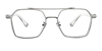 127 Amorin Aviator clear glasses