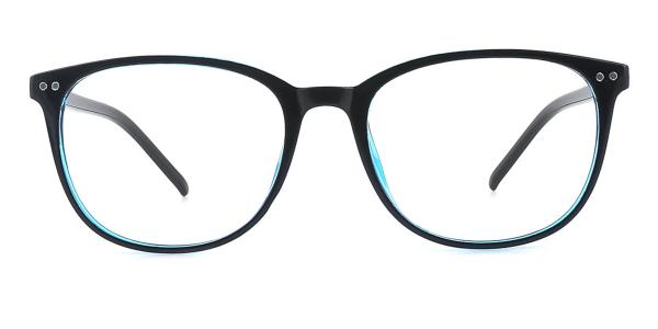 1295 Xena Oval blue glasses
