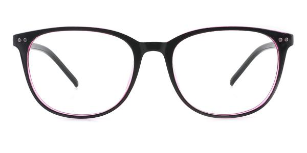 1295 Xena Oval purple glasses
