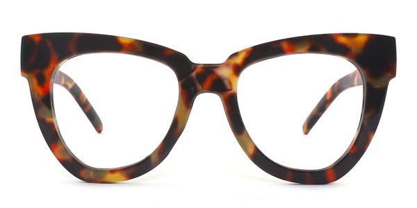 1374-1 Walta Cateye tortoiseshell glasses