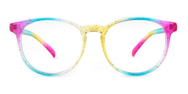 14011 Olive Oval multicolor glasses