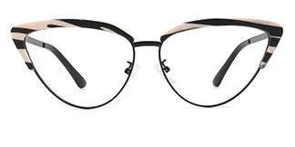 14521 Joni Cateye tortoiseshell glasses