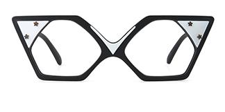 14721 Apollo Cateye black glasses