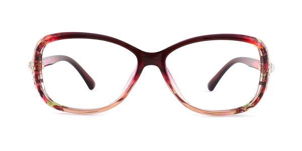 1496 Mavis Rectangle purple glasses