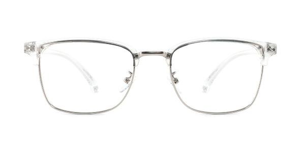 1522-1 Jasmine Rectangle clear glasses