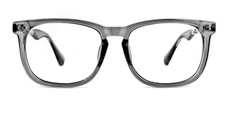 1537 Ianna Rectangle grey glasses