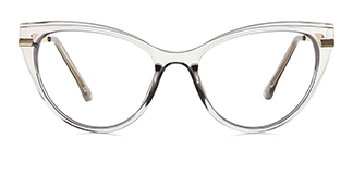 15403 Bing Cateye grey glasses