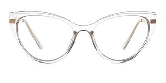 15404 Birdie Cateye clear glasses